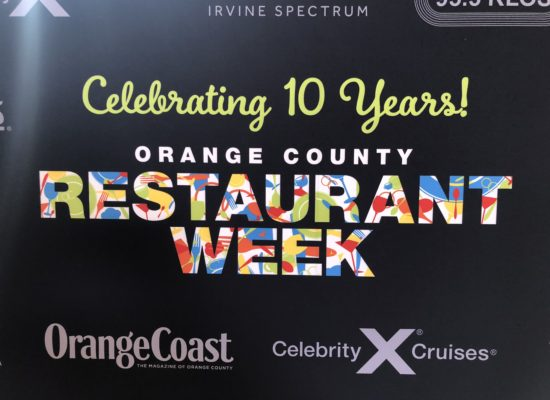 OC Restaurant Week 2018