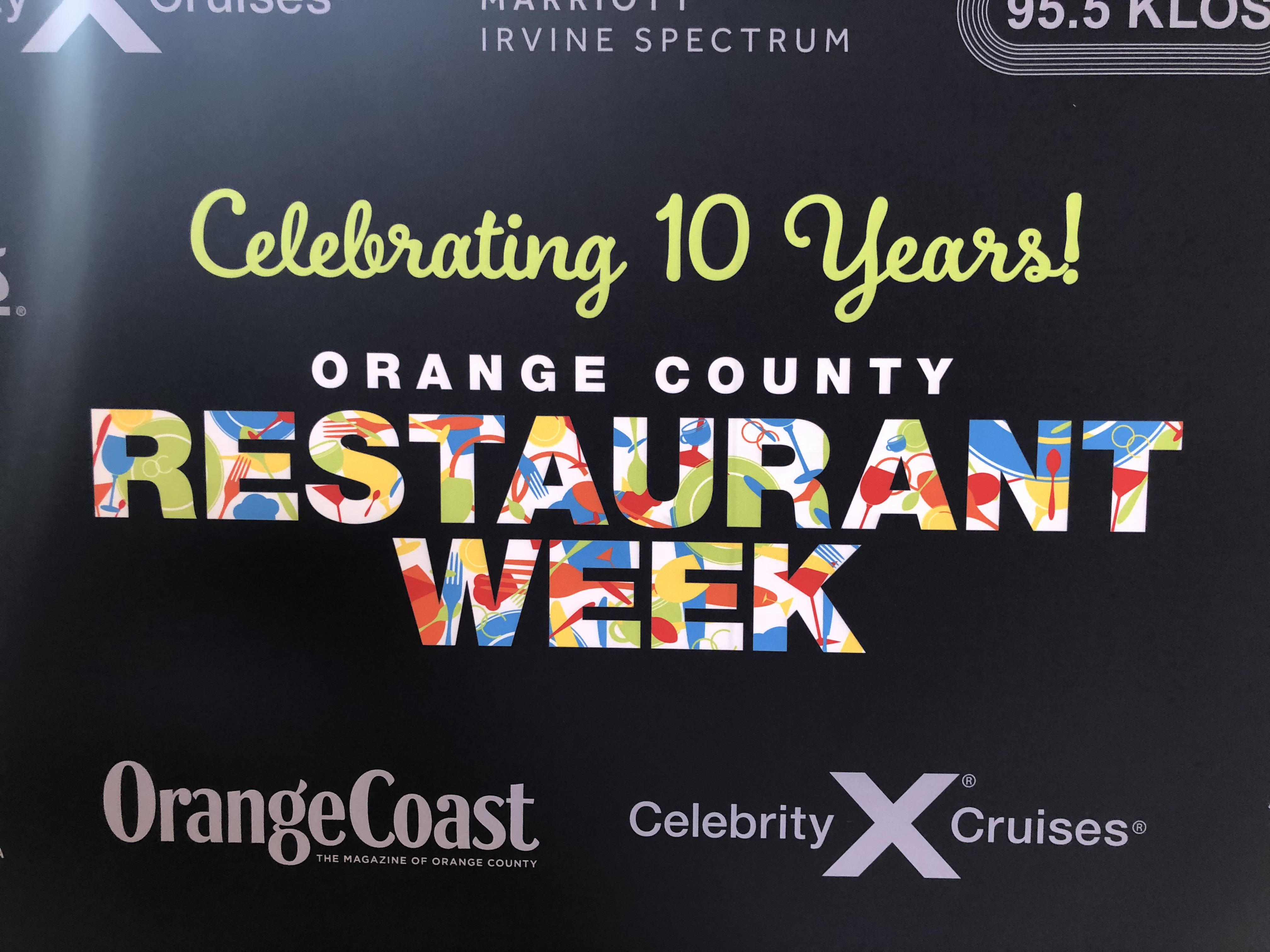 OC Restaurant Week 2018